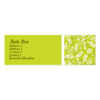 Elegant Businesscard smala Visitkort Mall