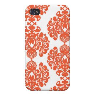 Elegant damast mig iPhone 4 cases