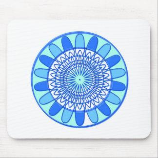 Elegant design för blåttgnistrajuvel mus mattor