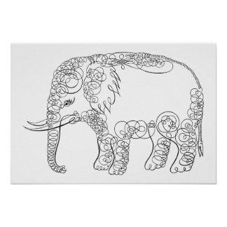 Elegant elefant