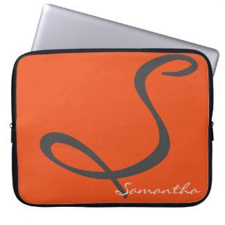 elegant enkel modern chic moderiktig datorfodral