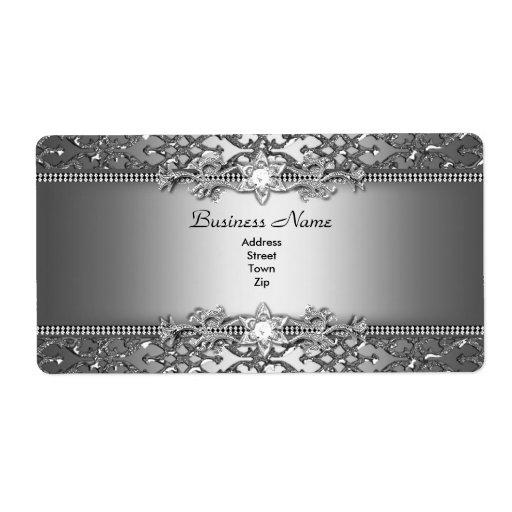 Elegant flott utföra i relief juvel för silver fraktsedel