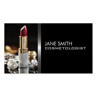 Elegant för Cosmetology för Cosmetologist för Make Visitkort
