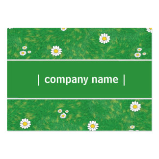 Elegant gräsmattaomsorg set av breda visitkort