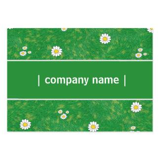 Elegant gräsmattaomsorg visitkort mallar