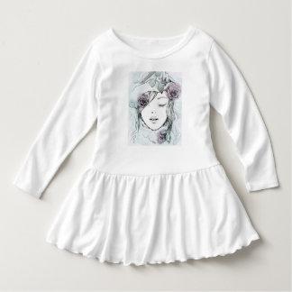 Elegant illustration för vattenfärghand tee shirt