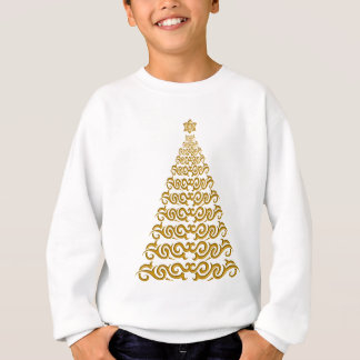 Elegant julgranskjorta tröja