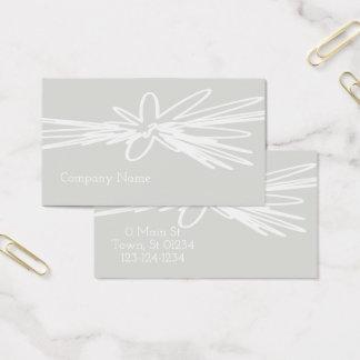 Elegant konstnärlig handlagvisitkort visitkort