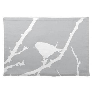 Elegant Minimalist fågelSilhouette Bordstablett