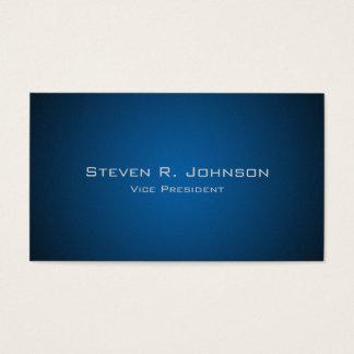 Elegant mörk - visitkortar för blåttOmbre Visitkort