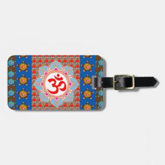 Elegant OmMANTRA Mantra: Yogameditation som läker Bagagebricka