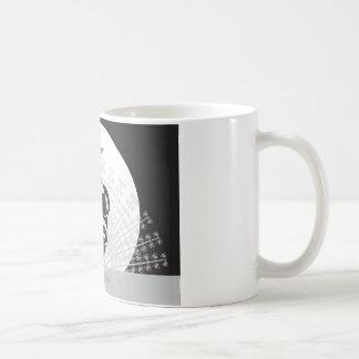 Elegant påfågel kaffemugg