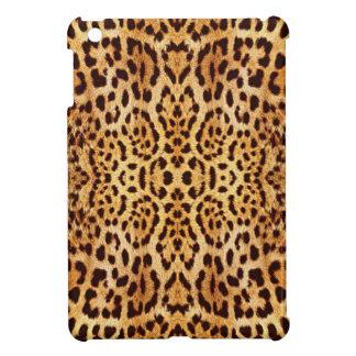 elegant päls för leopard iPad mini mobil fodral