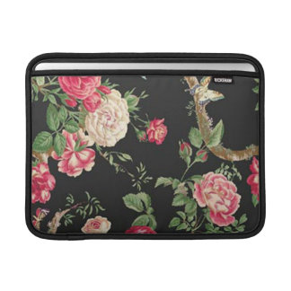 Elegant rosa rosMacbook sleeve
