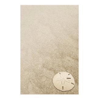 Elegant Sanddollar stationära 3 Brevpapper