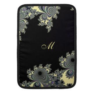 Elegant sleeve för FractalMonogramMacbook luft