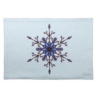 Elegant Snowflake Bordstablett
