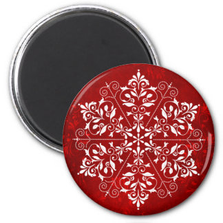 Elegant Snowflakemagnet Magnet