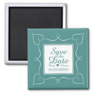 Elegant spara datum magneter för