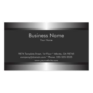 Elegant visitkortmall för klassiker set av standard visitkort