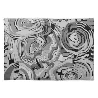 Eleganten skuggar av gråa det matta bordstablett