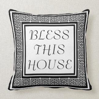 Eleganten välsignar detta mönster för kudde