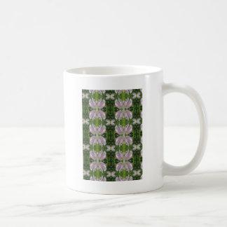 Elegantpärlan blommar den KÖRSBÄRSRÖDA BACKEN NJ Kaffemugg