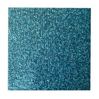 Elegantt blåttglitter liten kakelplatta