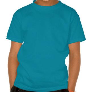 Elegantt chic gulligt mönster för triangelgröntvit tshirts