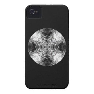 Elegantt gotiskt mönster. Svart och White. Case-Mate iPhone 4 Skal