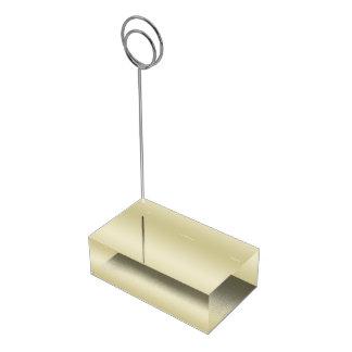 Elegantt guld bordskorthållare
