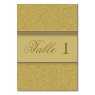 Elegantt guld- glitter för lyxig guld- struktur bordsnummer