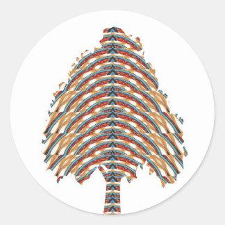 ELEGANTT trädsymbol:  Metalliska färger LOWPRICE S