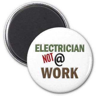 Elektriker INTE på arbete Magnet