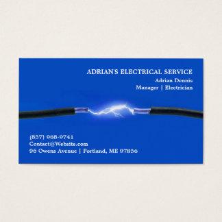 Elektrikervisitkort Visitkort