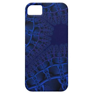 Elektrisk blåttfractal iPhone 5 cover