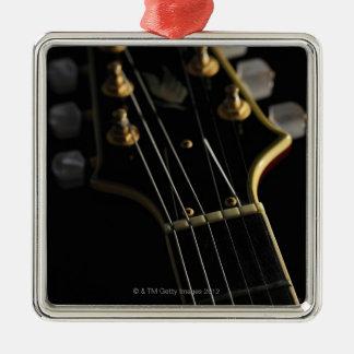 Elektrisk gitarr 8 julgransprydnad metall