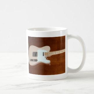 Elektrisk gitarr kaffemugg