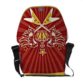 Elektrisk gitarrRickshawmessenger bag Kurir Väskor