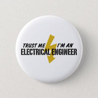 Elektrisk ingenjör standard knapp rund 5.7 cm