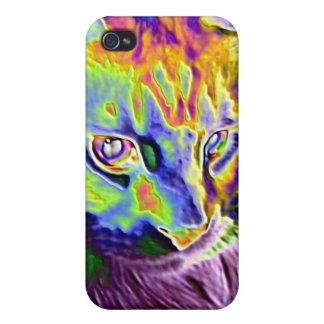 Elektrisk katt iPhone 4 fodral