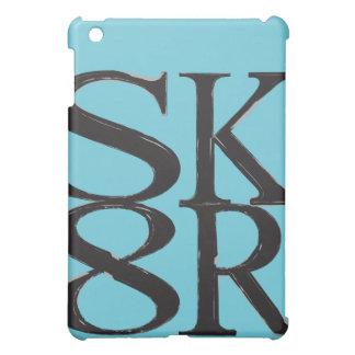 Elektrisk kortkortipad cover för blått SK8R iPad Mini Mobil Skydd