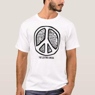 Elektrisk T-tröja för cirkusVietnam moratorium T-shirt