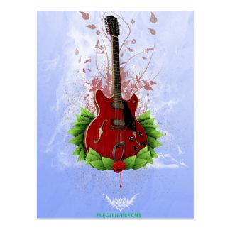 Elektriska drömmar vykort