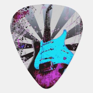 Elektriska gitarrer Plektrum