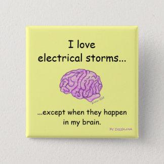 Elektriska stormar knäppas standard kanpp fyrkantig 5.1 cm
