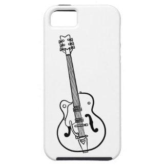 Elektriskt gitarrkonstverk - skyddande fodral för  iPhone 5 fodraler
