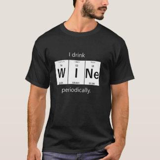 Elementär kemiT-tröja för vin Tee Shirt