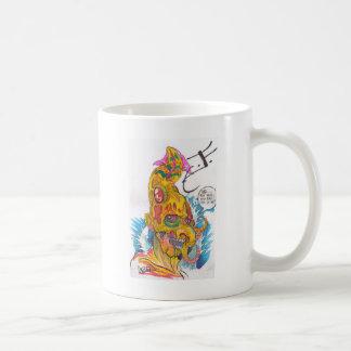 Elementära karikatyrer för BSD - Justin som vatten Kaffemugg
