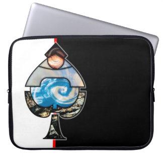 Elementära spadar laptop fodral